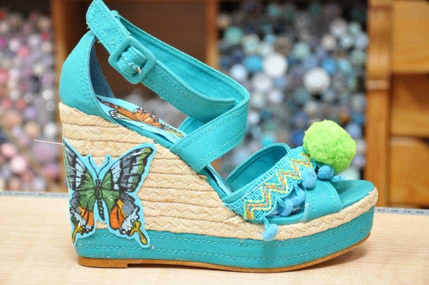 creation-customisation-chaussures-femmes-talon--PE17-tissus-des-docks-biarritz