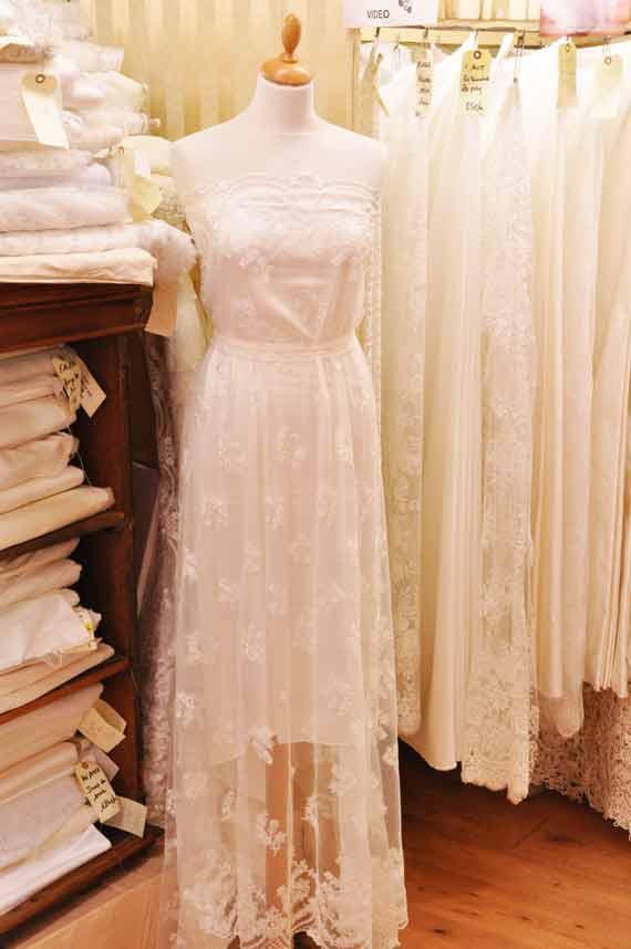 tissu-habillement-robe-mariee